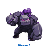 level 5 dragons clash of clans wiki golem
